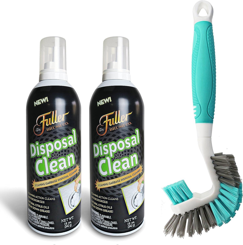Fuller Brush Garbage Disposal Drain Cleaner Foam with Multipurpose Brush Kit