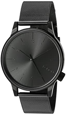 367a2f9de8 [コモノ] KOMONO 腕時計 [ウィンストン・ロイヤル] WINSTON ROYALE - BLACK