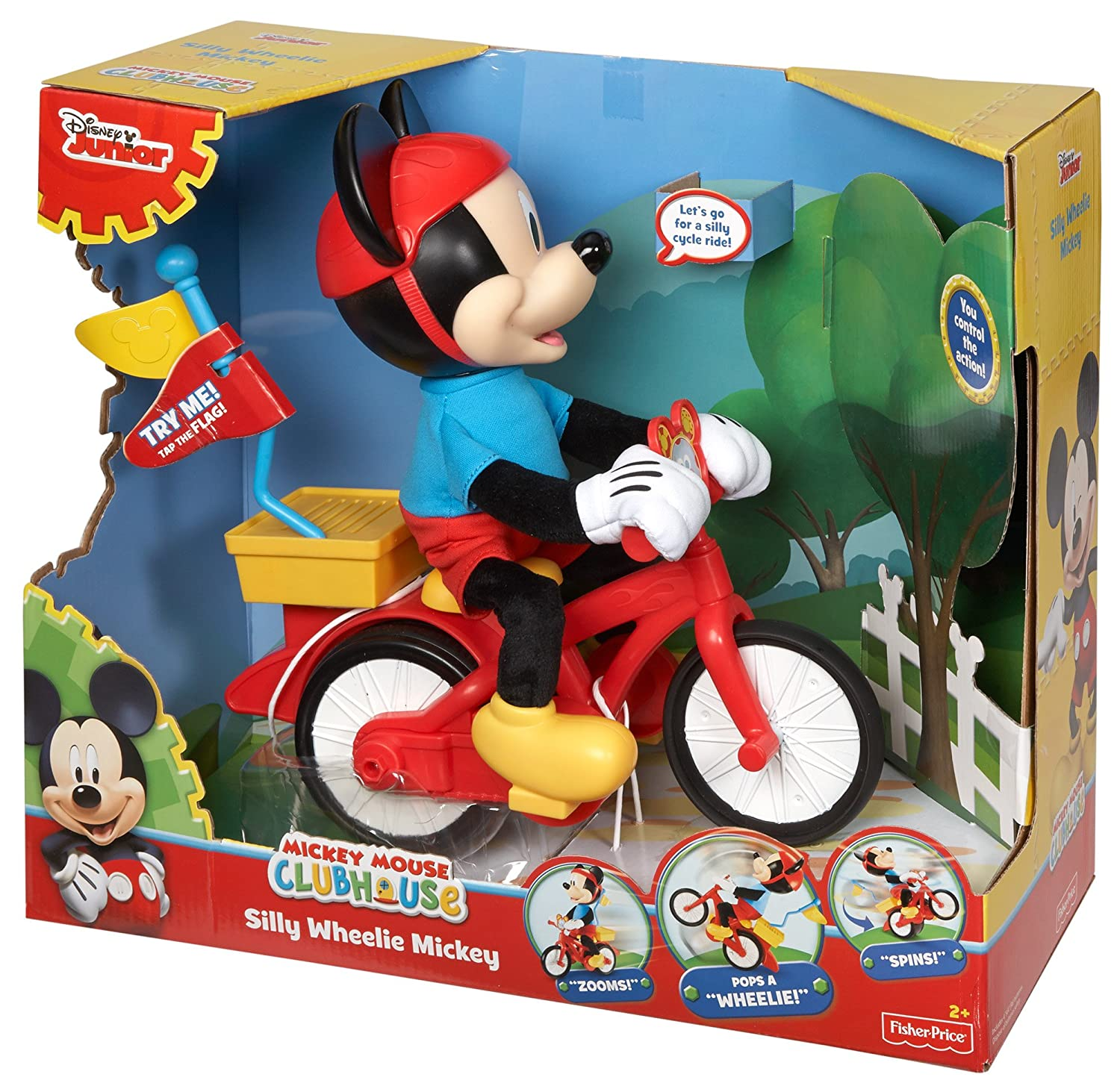 Mickey Mouse Clubhouse Silly Cycling Mickey Amazon Toys