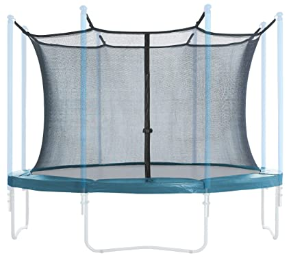 Trampoline Trampoline Enclosure Safety Net Fits 15' Round Frames Using 8 Poles or 4 Arches Outdoor Trampolines