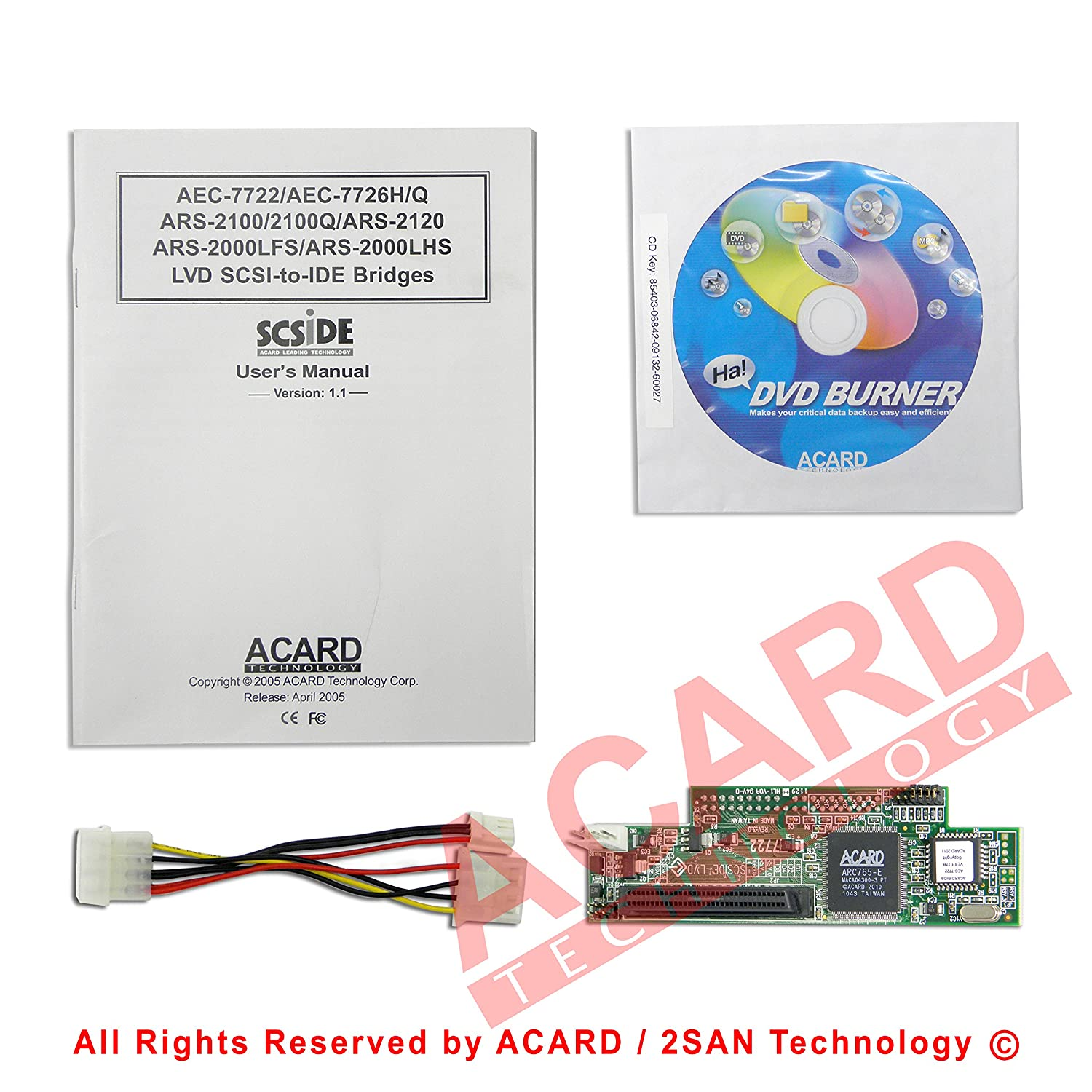 ACARD ARS-2000LFS DRIVER FOR PC