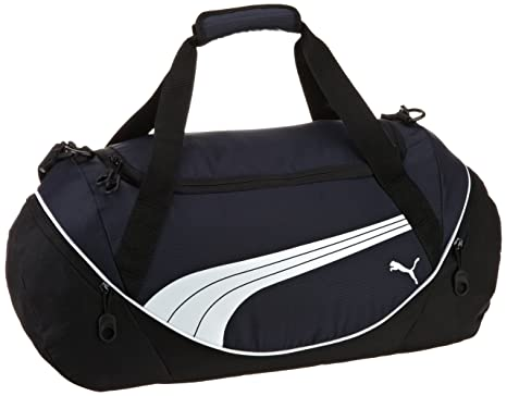 27dca3221f62b4 Amazon.com: PUMA Men's Teamsport Formation 20 Inch Duffel Bag, Navy ...