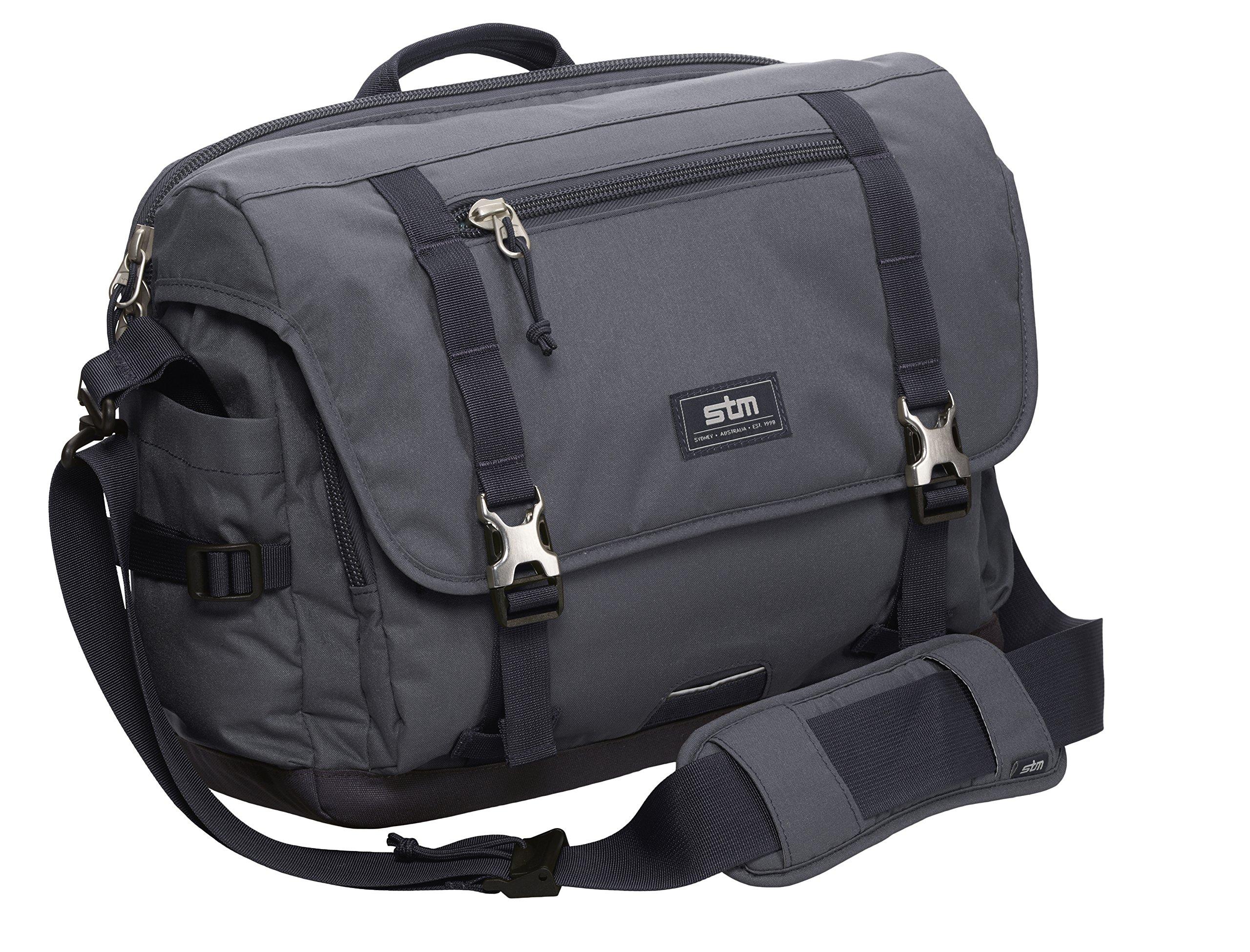 STM Trust, Laptop Shoulder Bag for 15-Inch Laptop - Graphite (stm-112-034P-16)