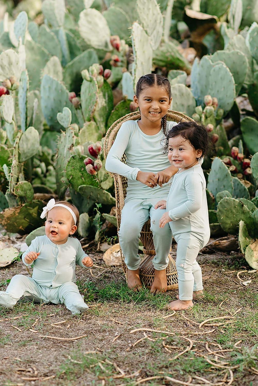 12-18 Monate KYTE BABY Weiche Bio-Bambus-Viskose-Futter 0-24 Monate einfarbige Farben Gr/ün Schnappverschluss