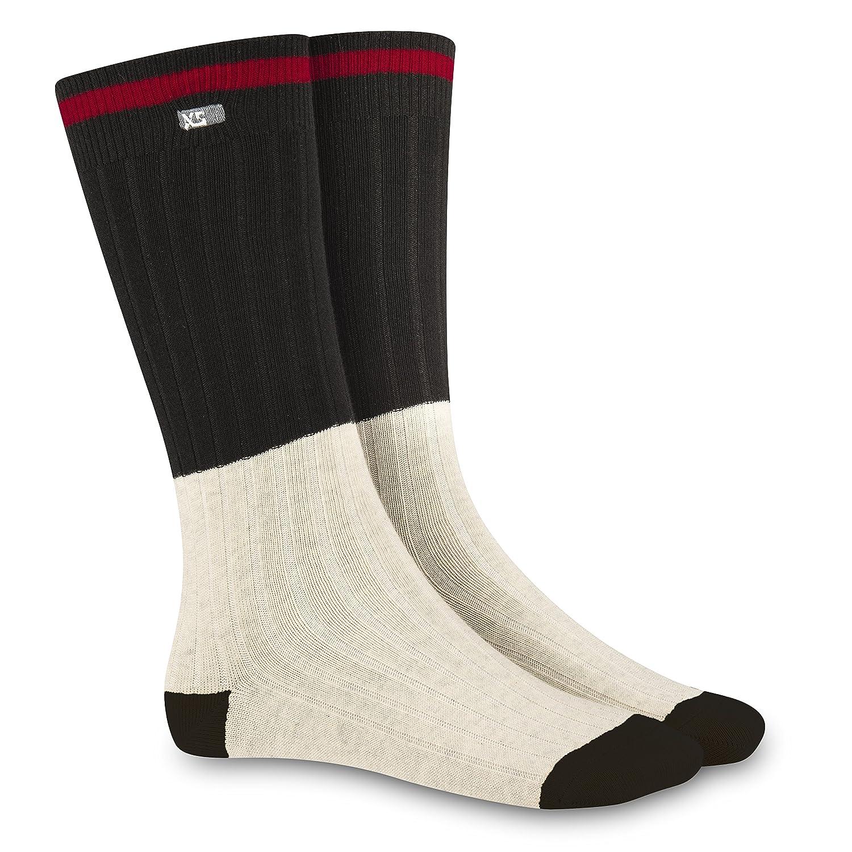 XS Helmets Cabin Socks Black//Ivory One Size