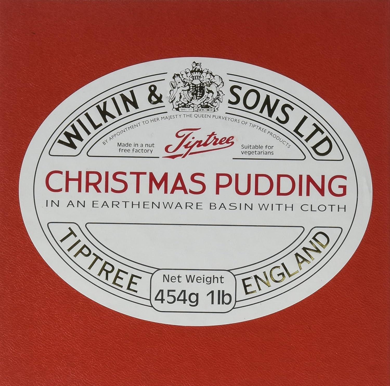 Amazon.com : Tiptree Boxed Christmas Pudding, 454 Gram : Fruitcakes ...