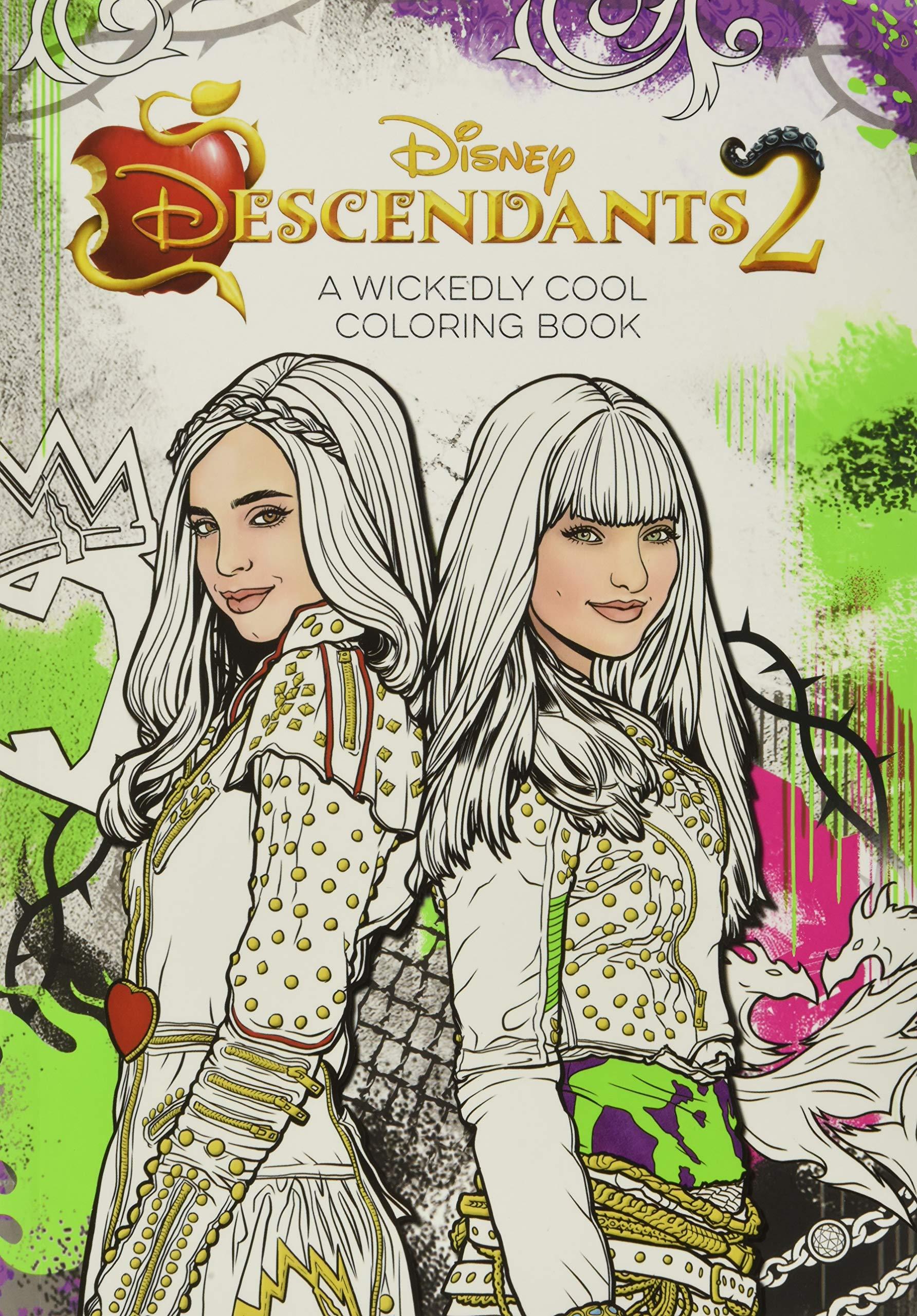 Descendants 2 A Wickedly Cool Coloring Book Art Of Coloring Amazon De Disney Book Group Fremdsprachige Bucher