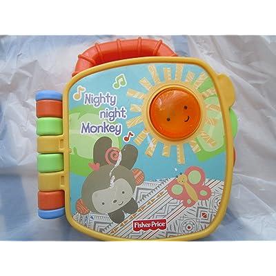 Nighty Night Monkey Electronic Book: Toys & Games