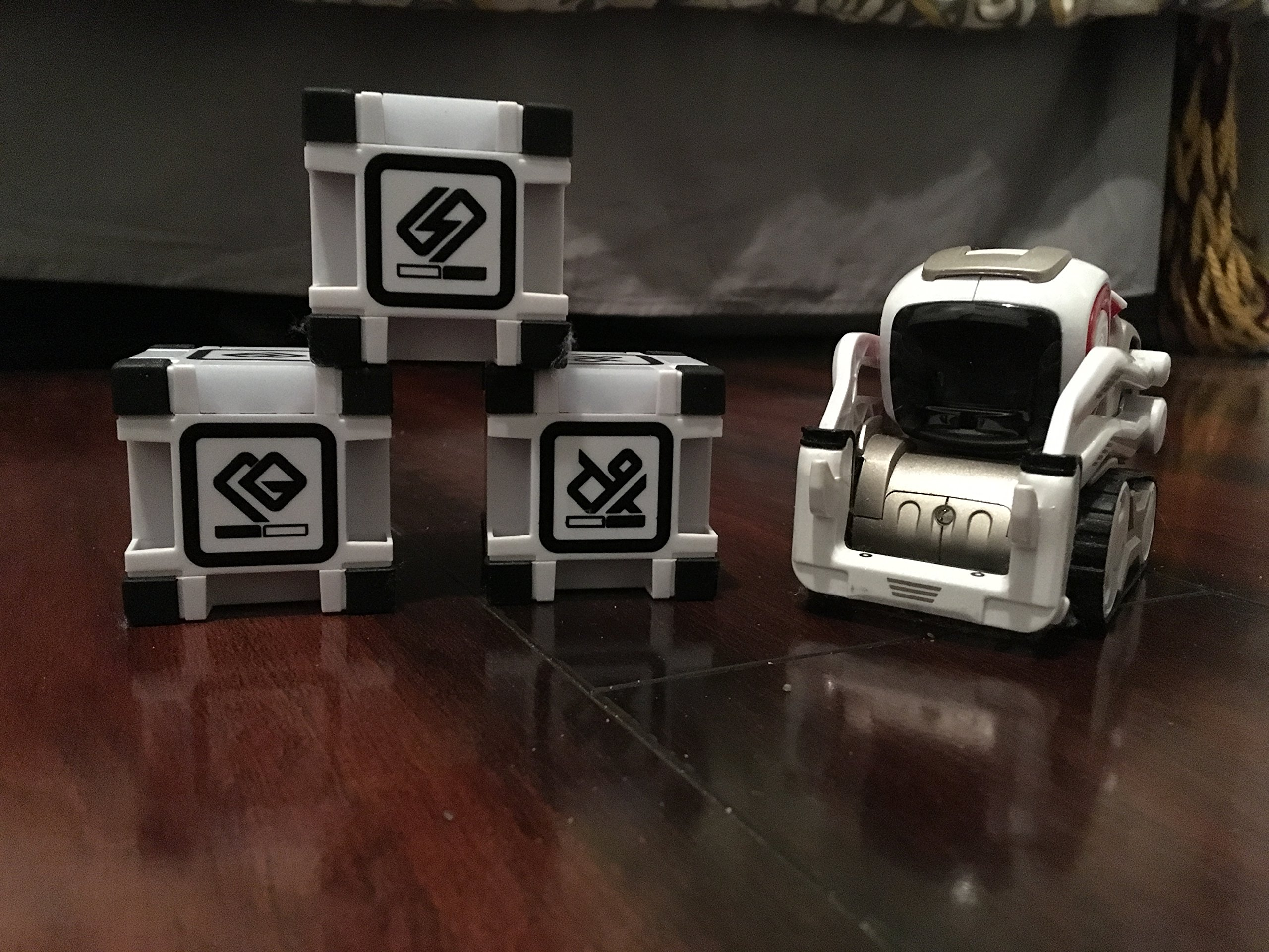 Anki Cozmo Robot with Power Cubes