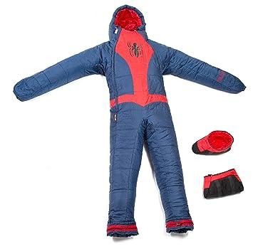 SELKBAG Saco de dormir Modelo SPIDER MAN,Talla XL
