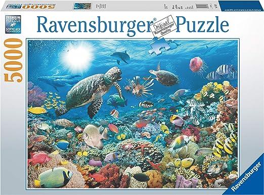 Ravensburger - Maravillas del Mundo Submarino, Puzzle 5000 Piezas (17426 3): Amazon.es: Juguetes y juegos