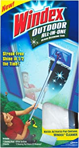 Windex Cleaner Window Outdoor All In One 6pk