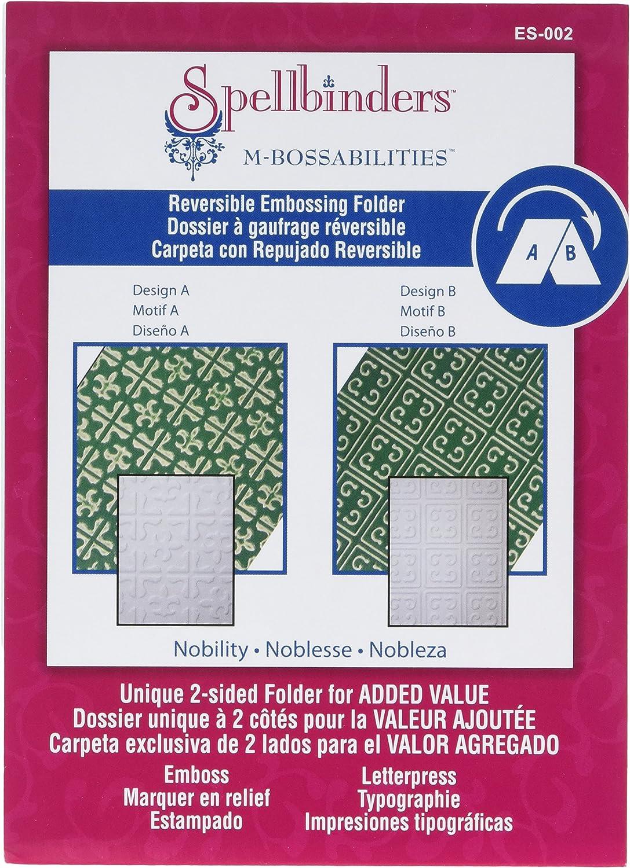 Spellbinders Reversible Embossing Folders
