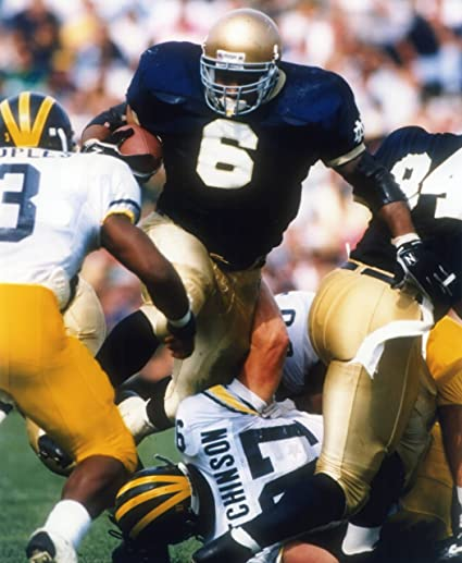 a3bd4a1c2d8 Image Unavailable. Image not available for. Color: JEROME BETTIS UNIVERSITY  OF NOTRE DAME FIGHTING IRISH ...