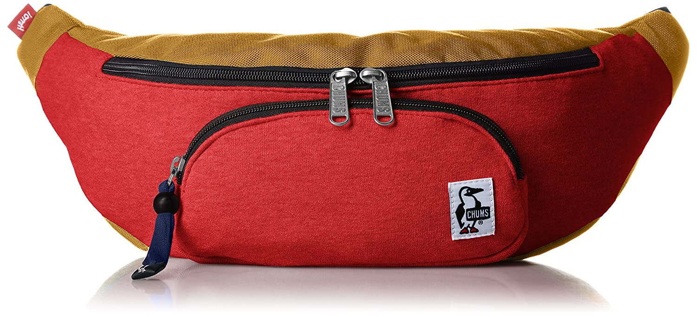 [チャムス] ウエストバッグ Fanny Pack Sweat Nylon CH60-0685-A046-00 B074DWBM8R H-Camellia/Camel H-Camellia/Camel