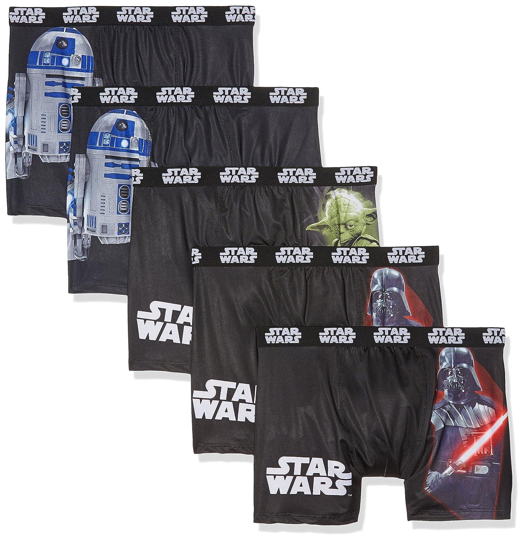 SW/AM/1/PK5, Bóxer Para Niños, Multicolor (Multicolor A6), S, Pack de 6 Star Wars