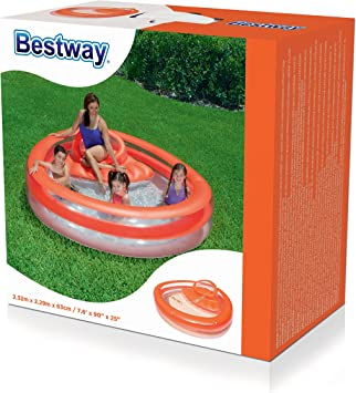 Bestway Family Pool Funday Lounge – Piscina Hinchable, 232 x 229 x ...