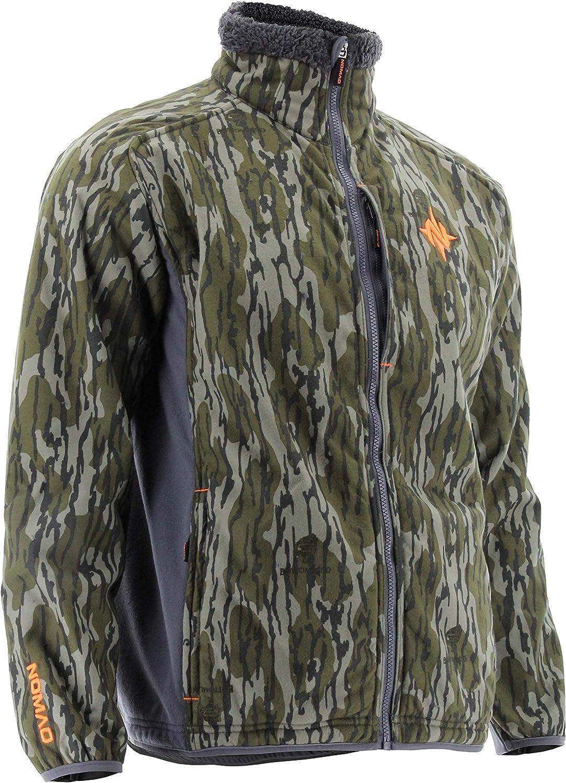 Nomad Men's Hunting Jacket Standard Harvester Wind & Water Resistant Sherpa Fleece