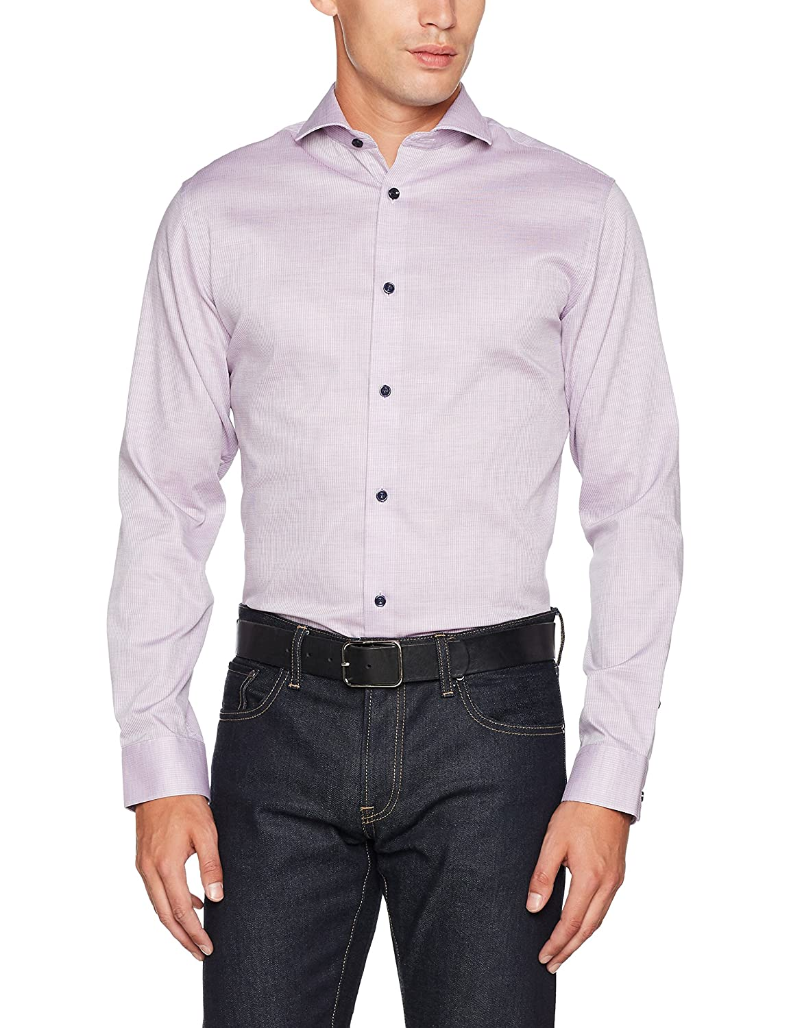 TALLA M. SELECTED HOMME Shdtwosel-yap Shirt LS Noos Camisa para Hombre