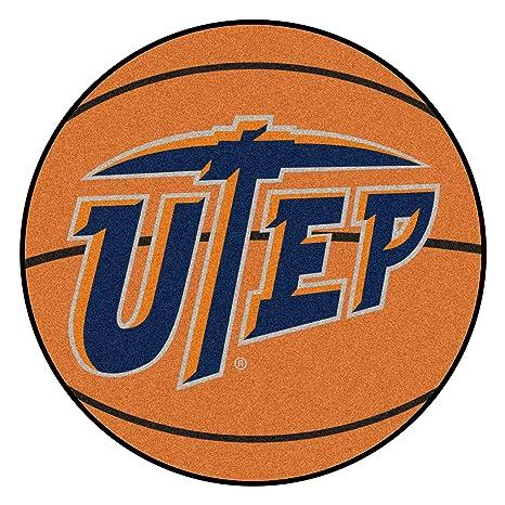 Amazon.com: NCAA UTEP Miners Alfombra de baloncesto en forma ...