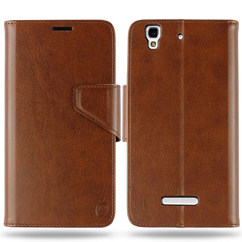 cheaper cf487 45772 Cool Mango Business Flip Cover for Yu Yureka Plus - 100% Premium Faux  Leather Flip Case for Micromax Yu Yureka / Yureka Plus with 360 Degree ...