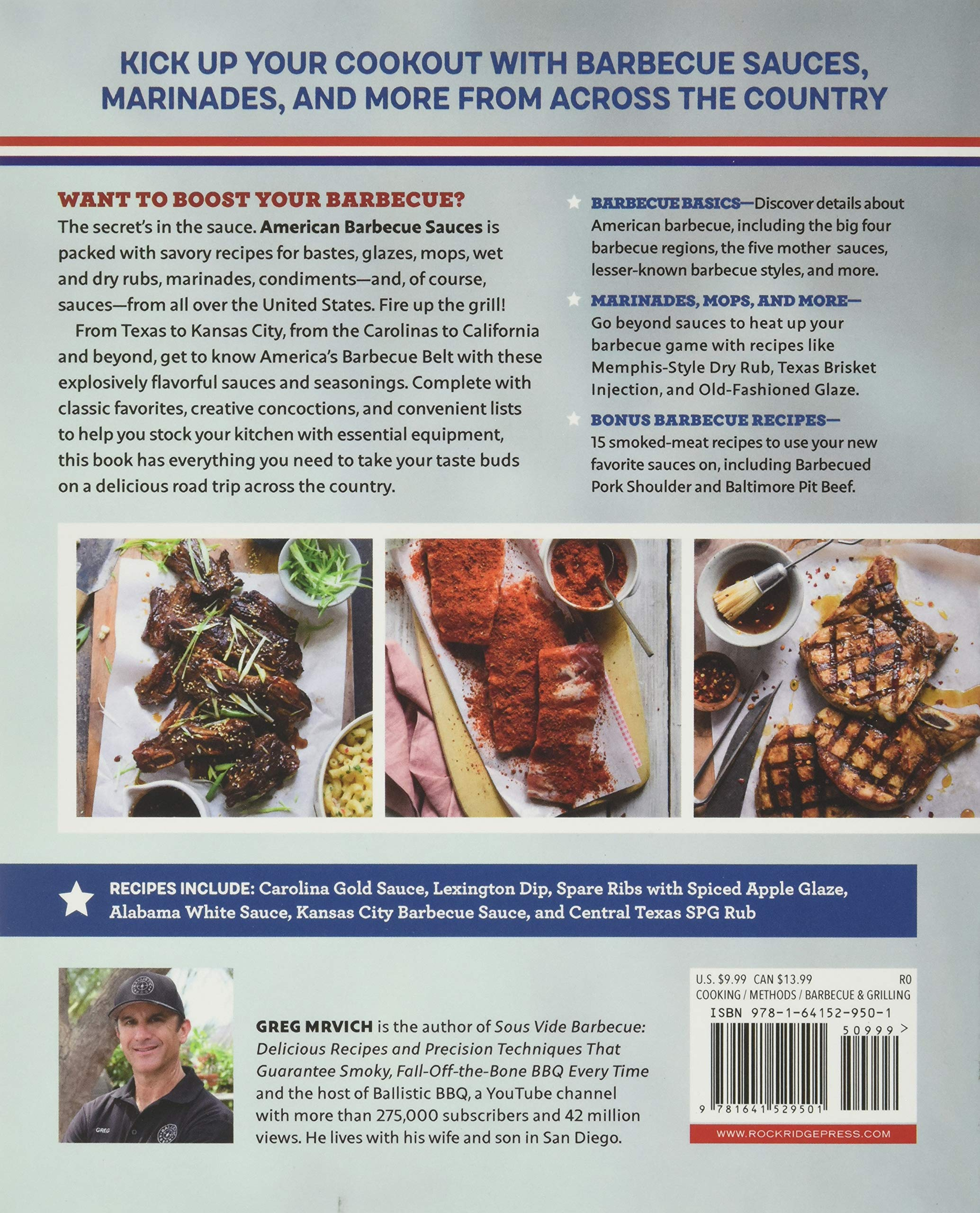 American Barbecue Sauces Marinades Rubs And More From The South And Beyond Amazon De Mrvich Greg Fremdsprachige Bucher