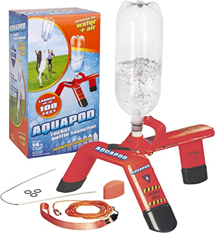 Aquapod Bottle Launcher Launch 2 Liter Bottles Up to 100 ft in the Air