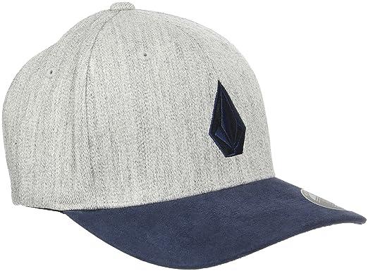 5118dde512b45 ... usa volcom mens full stone heather flexfit stretch twill hat indigo  1deb8 f611f