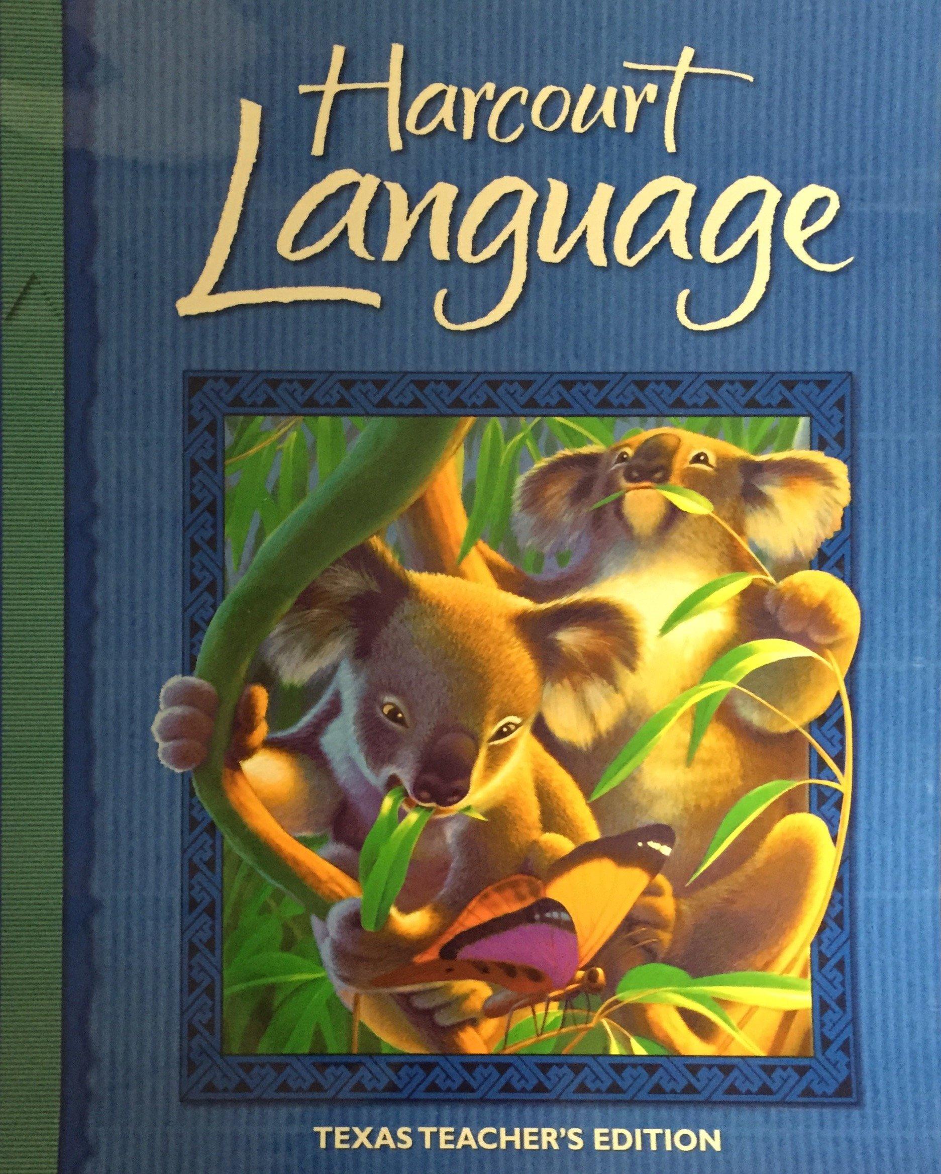 Download Harcourt Language Texas Teacher's Edition Grade 2 (Harcourt Language) ebook
