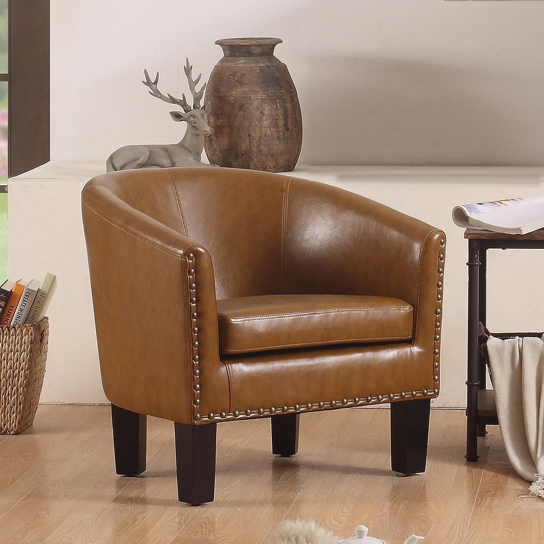 Brown Rosevera C2BN Duilio Club Chair