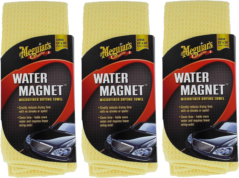 MEGUIAR'S X2000 Water Magnet Microfiber Drying Towel (3 Pack)