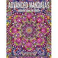 Coloring Book for Adults | Advanced Mandala: Adult Coloring Book Stress Relieving Design Featuring Relaxing Mandala Coloring Pattern for Adult Relaxation