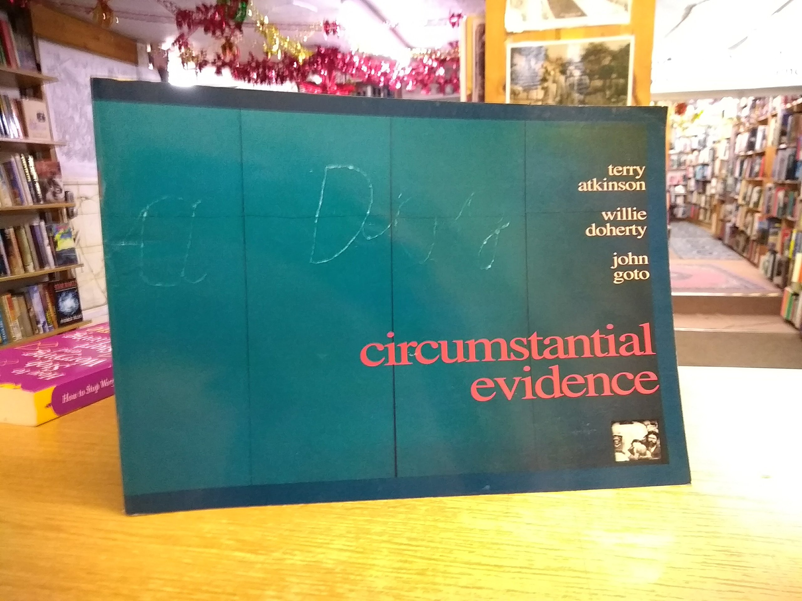 circumstantial evidence new work by terry atkinson willie doherty and john goto