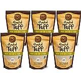Maskal Teff Ivory Teff Flour, 16 Ounce (6 pack)