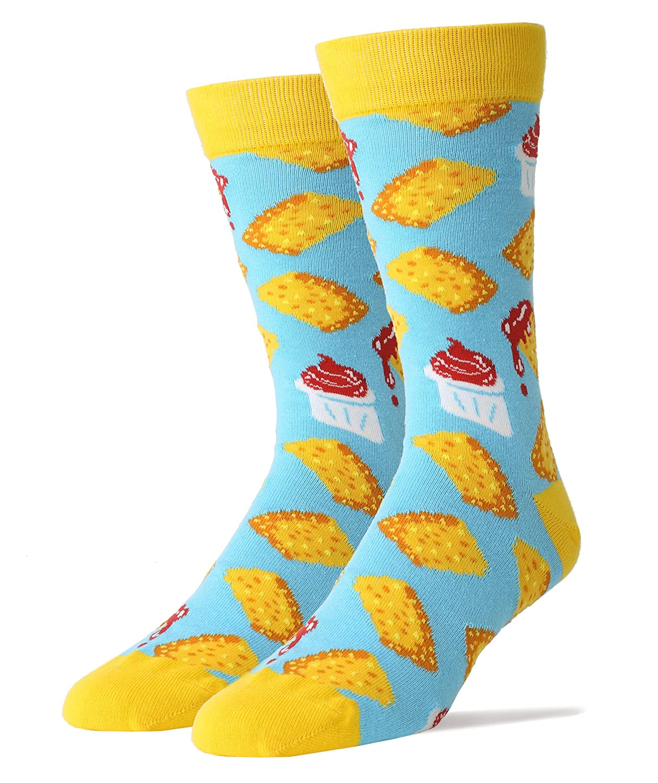 Oooh Yeah Mens Crew Funny Novelty Socks Taters