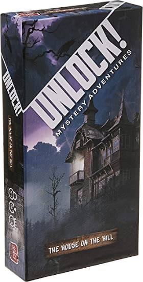 Asmodee Unlock! The House on The Hill Escape Room Card Game Standard: Amazon.es: Juguetes y juegos