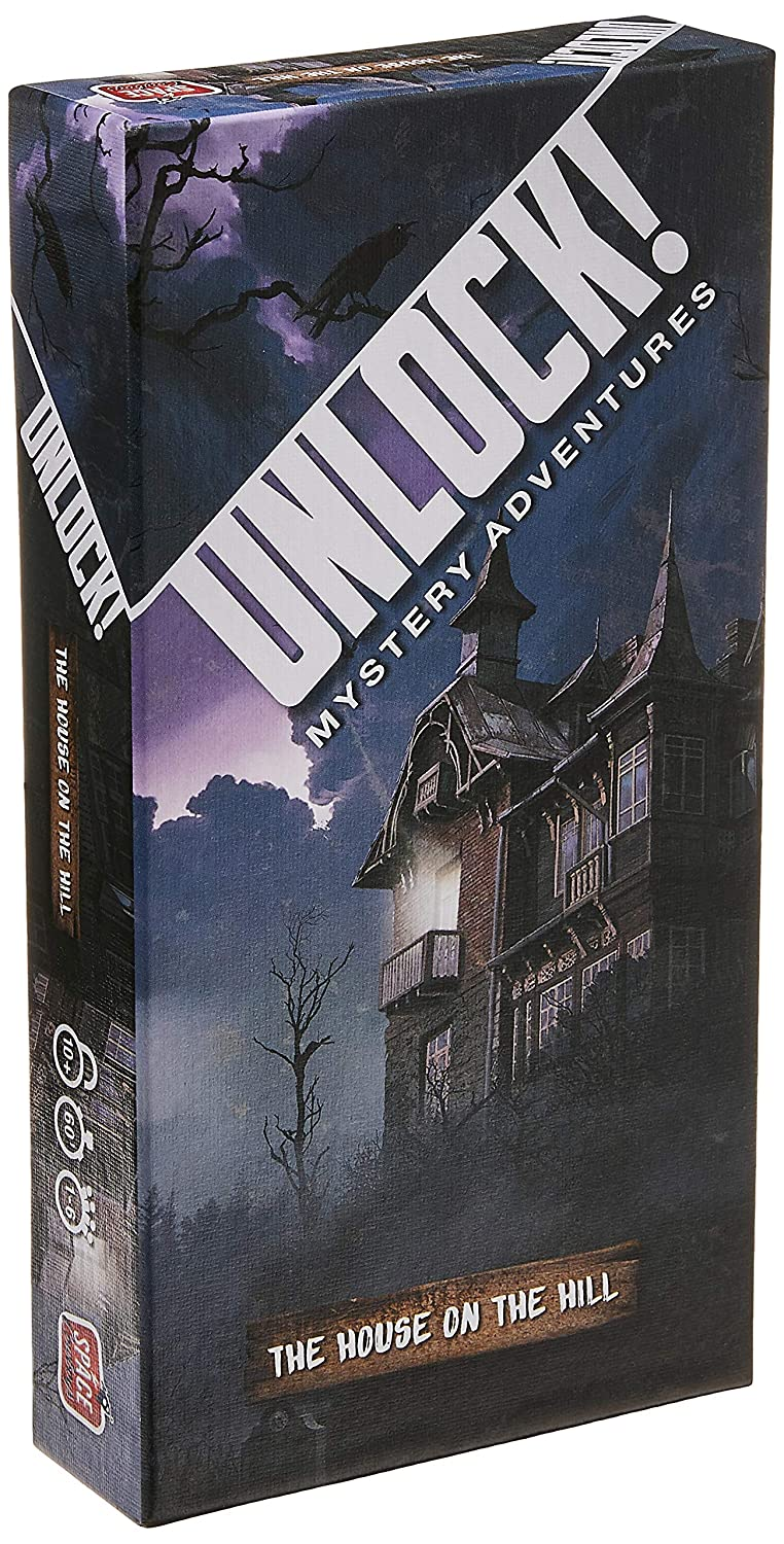 Asmodee Unlock! The House on The Hill Escape Room Card Game ...