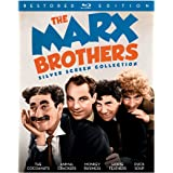 The Marx Brothers Silver Screen Collection – Restored Edition [Blu-ray] (Sous-titres français)