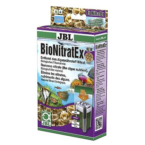 JBL Filtro Pelotas efectiva para Distancia de Nitrato de acuarios Agua; bionit ratex; 62536