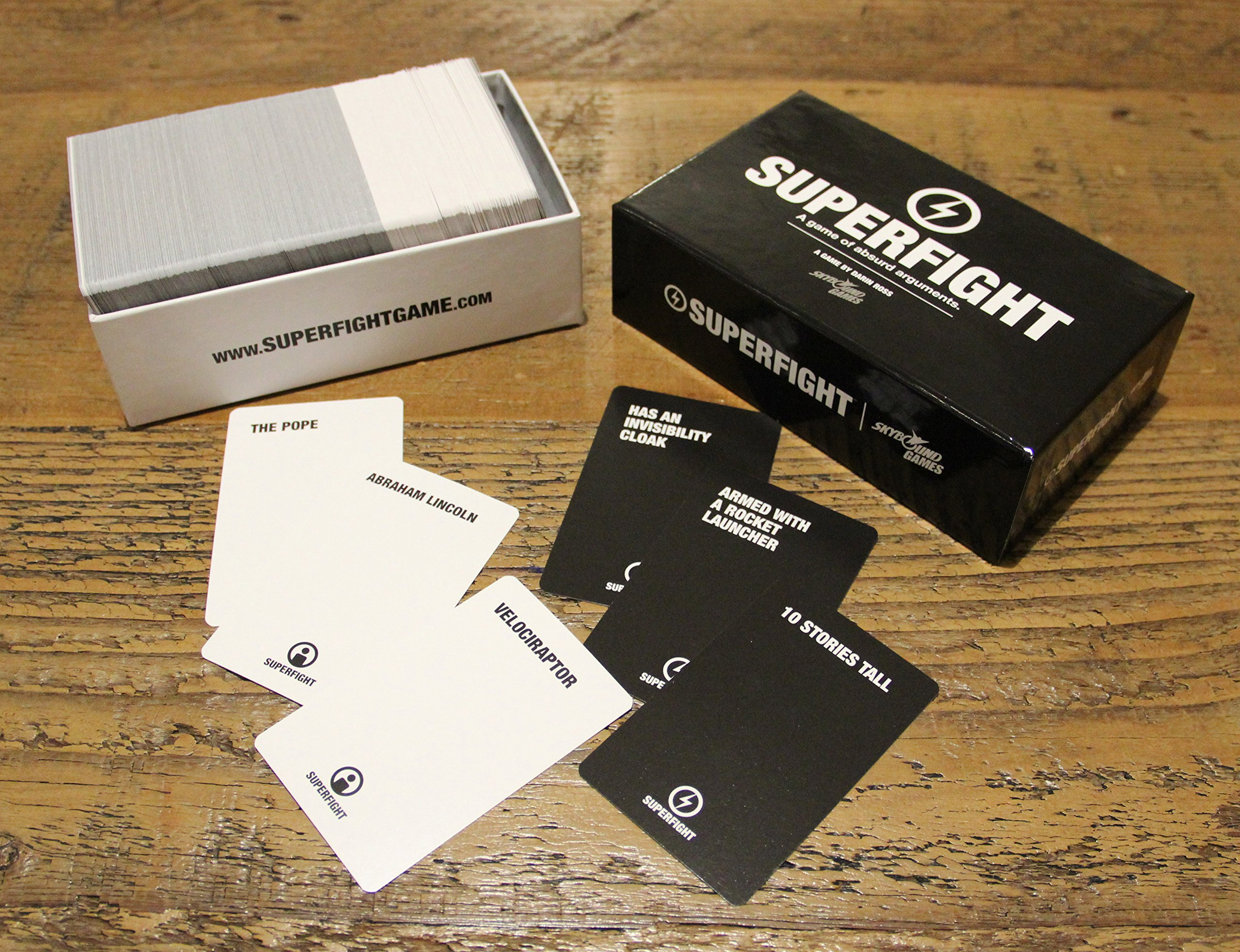 Superfight Skybound's Card Game: The 500-Card Core Deck by Superfight (Image #1)