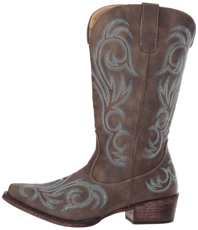 Roper Women's Riley Western D Boot B06WWHL7RY 9.5 D Western US|Brown 09993f