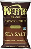 Kettle Brand Potato Chips, Sea Salt, 8.5-Ounce Bag