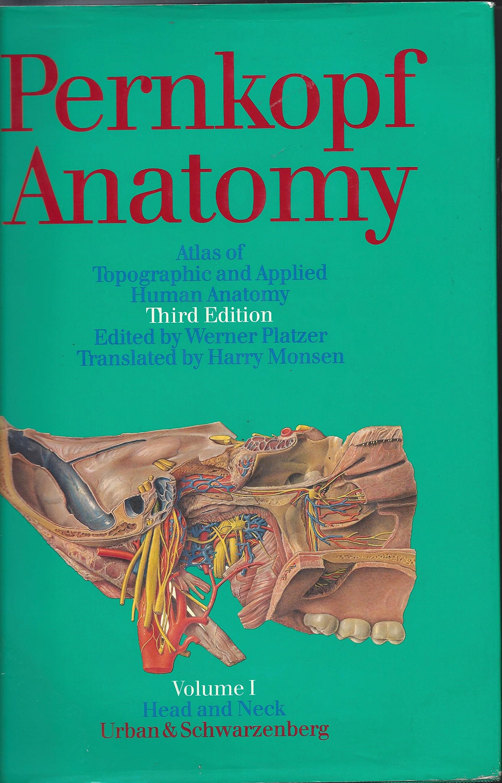 Pernkopf Anatomy: Atlas of Topographic and Applied Human Anatomy ...
