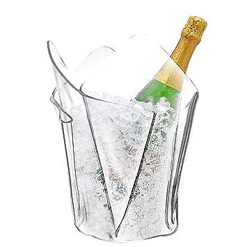 Amazon Clear Acrylic Ice Bucket Wine Champagne Liquor Bottle