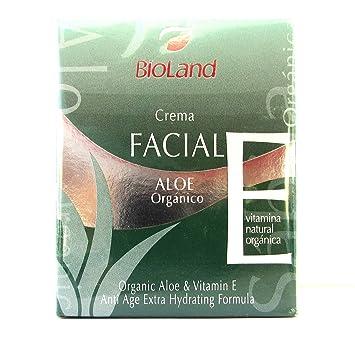 Organic Aloe & Vitamin E Anti Age Extra Hydrating Facial Formula 2.5 fl.oz |