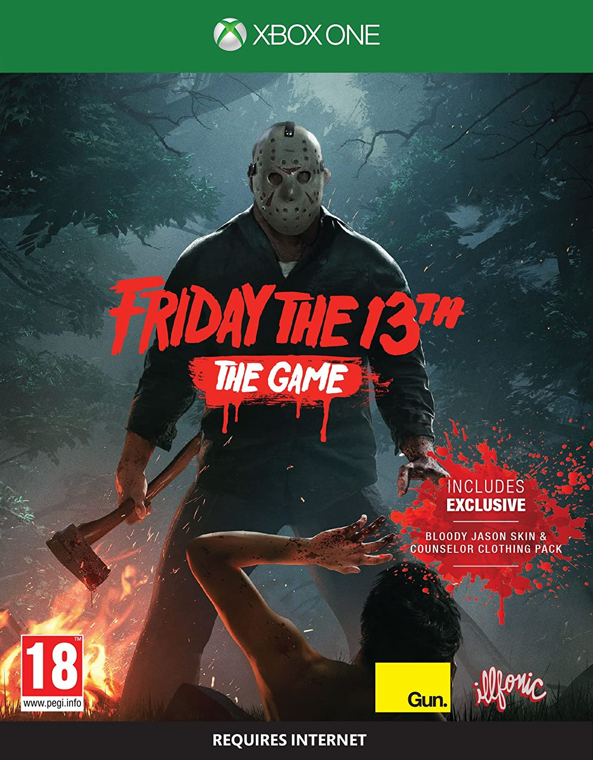 Friday The 13th The Game Xbox One Amazon Co Uk Pc