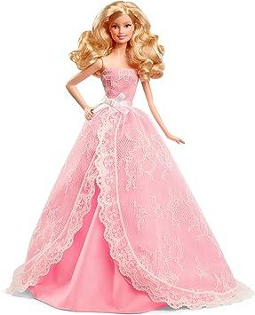 Barbie Cfg03 Poupee Mannequin Joyeux Anniversaire 2015 Amazon Fr Jeux Et Jouets
