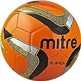 Mitre Impel Football Size 3 Orange-Yellow-Black