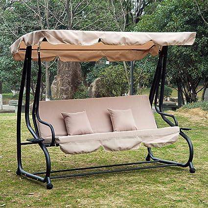 Amazon Com Festnight Outdoor Patio Porch Swing Hammock