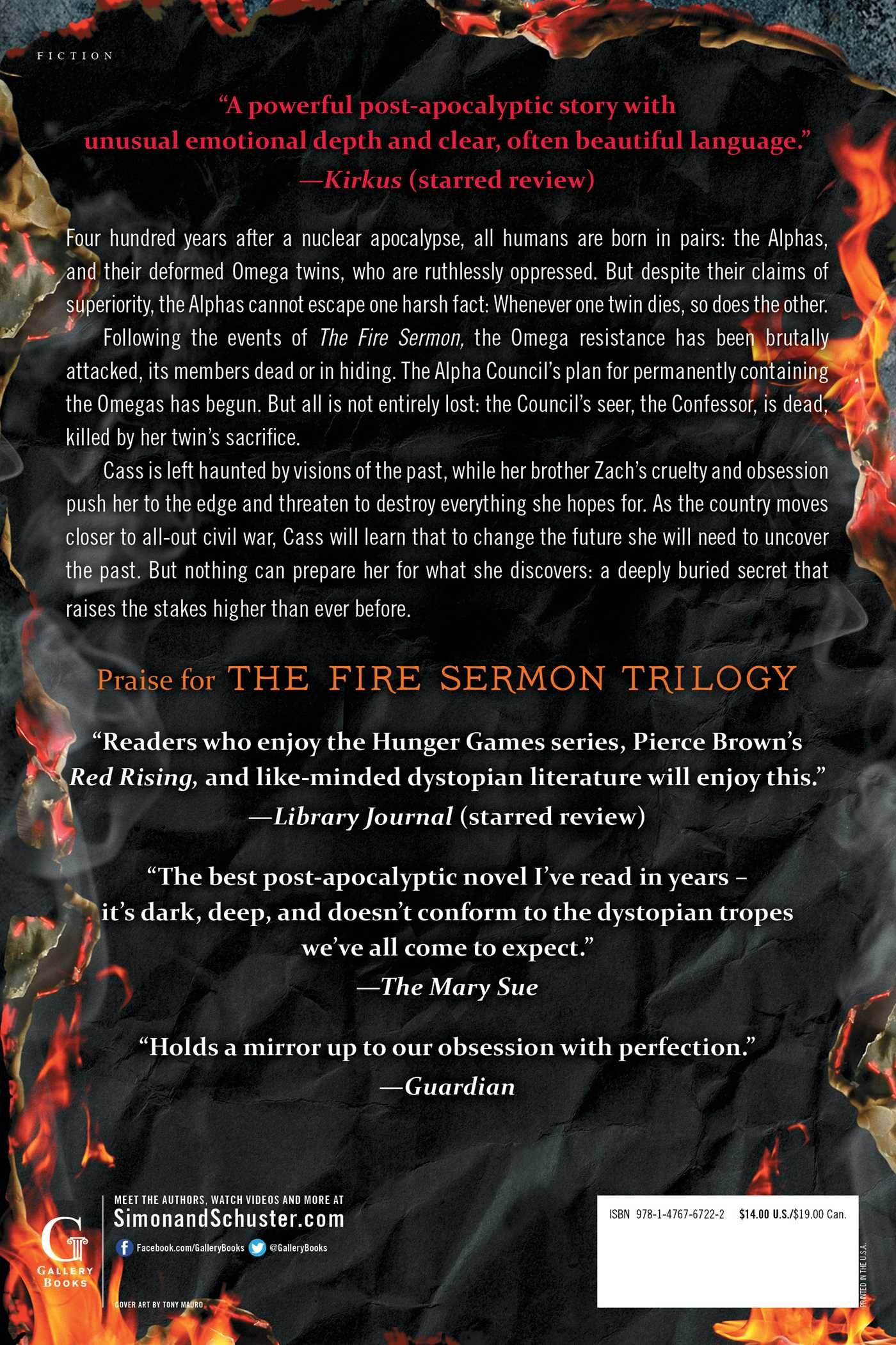 The Map of Bones (The Fire Sermon): Francesca Haig: 9781476767222